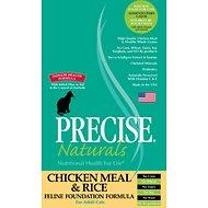 Precise Naturals Chicken Meal & Rice Foundation Formula Dry Cat Food 6lb