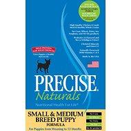 Precise Naturals Small & Medium Breed Puppy Formula Dry Dog Food (5lb - 15lb) QUALIFIES FOR NO MINIMUM ORDER WITH SAME DAY SHIP TO YUBA CITY!