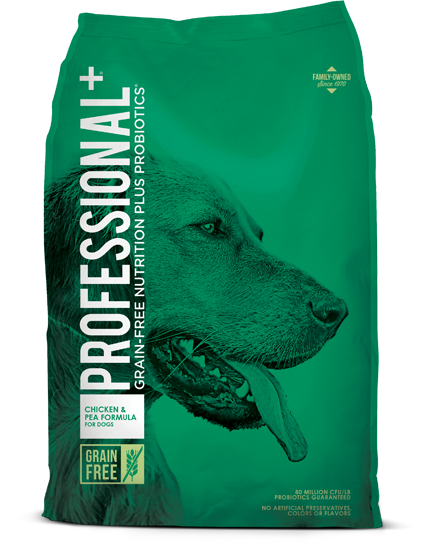 Professional+ Grain Free Chicken & Peas 28lb
