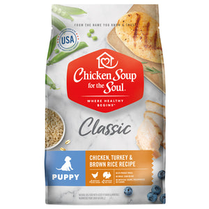 Chicken Soup Puppy Dog Food (4.5lb - 28lb) Bag