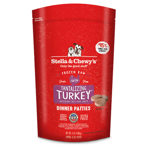 Stella & Chewy's Frozen Turkey Dinner Patties 6lb