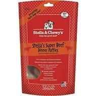 Stella & Chewy's Super Beef Dinner Patties Grain-Free Freeze-Dried Dog Food for All Ages (5.5oz - 25oz)