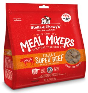 Stella & Chewy's Chewy's Super Beef Meal Mixers Freeze-Dried (3.5oz - 18oz)