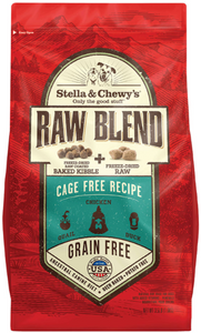 Stella & Chewy's Cage-Free Raw Blend Kibble 22lb