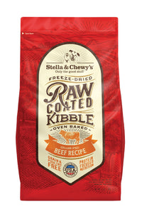 Stella & Chewy's Grass-Fed Beef Raw Coated Kibble (3.5lb-22lb)