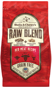 Stella & Chewy's Red Meat Raw Blend Kibble (10lb - 22lb)