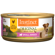 Nature's Variety Instinct Grain-Free Small Breed Chicken Formula Canned Dog Food - 3oz