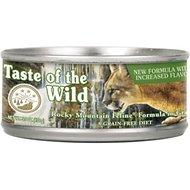 Taste of the Wild Rocky Mountain Grain-Free Canned Cat Food (3oz - 5.5oz)