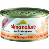 Almo Nature Legend 100% Tuna and Shrimp Wet Cat Food Case (2.47 oz can)