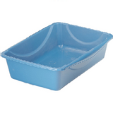 Petmate Litter Pan with Microban, Small (Blue)