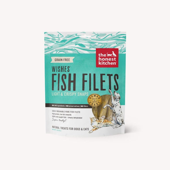 Honest Kitchen Wishes Whitefish Fillet Dog Treats & Cat Treats 3oz