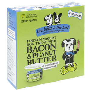 The Bear & Rat Frozen Yogurt Bacon/Peanut Butter 4pk (MUST BE HOME 1-9PM)