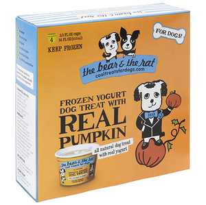 The Bear & Rat Frozen Yogurt Pumpkin 4pk