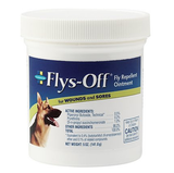 Flys-Off Fly Repellent Ointment for Dogs & Horses 5oz