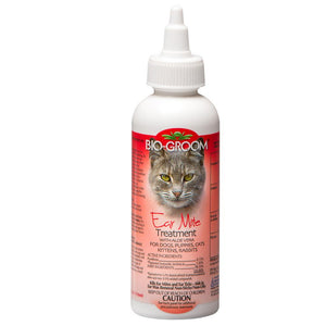 Bio-Groom Ear Mite Treatment for Dog, Puppy, Cat, Kitten, Rabbit