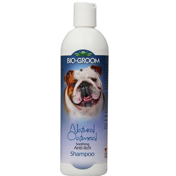 Bio-Groom Oatmeal Shampoo, 12-Ounce (For Dog & Cats over 12 Weeks Old)