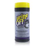 Urine Off Cat and Kitten Litter Box Wipes 35 Count
