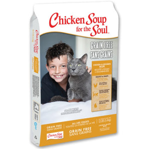 Chicken Soup for the Soul Grain Free Chicken All Life Stages Dry Cat Food (4 -12lb)