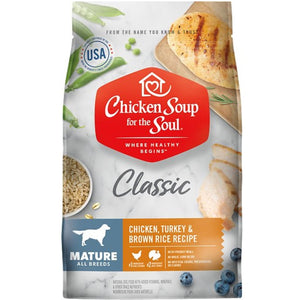 Chicken Soup Mature Dog Food (4.5lb-28lb)