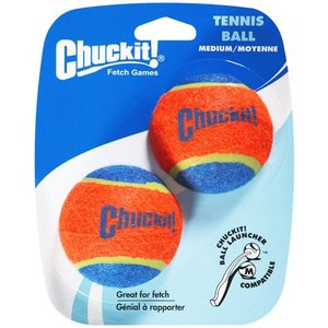 Chuckit! Tennis Balls Medium 2 Tone 2pcs.