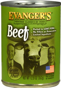 Evanger's Classic Beef Dinner Canned Dog Food 12.8oz