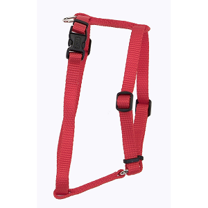 Coastal Adjustable Nylon Harness Red for Dogs