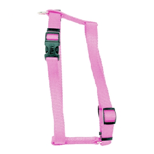 Coastal Adjustable Nylon Harness Pink for Dogs