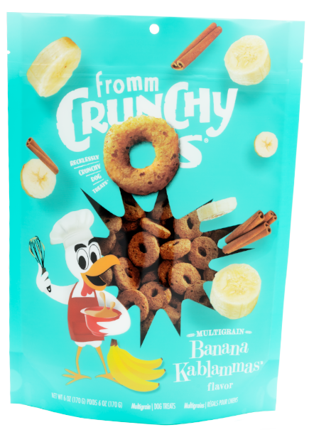 Fromm Crunchy O's Dog Treats - Banana