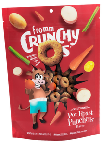 Fromm Crunchy O's Dog Treats - Pot Roast Punchers
