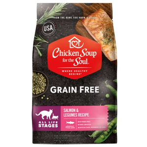 Chicken Soup for the Soul Grain Free Salmon All Life Stages Dry Cat Food (4 -12lb)
