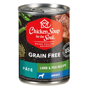 Chicken Soup for the Soul Limited Ingredient Diet Lamb & Lentils Recipe Grain Free Canned Dog Food, 13-oz