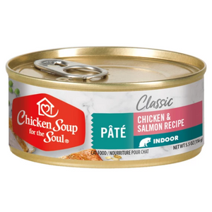 Chicken Soup for the Soul Indoor Canned Cat Food, 5.5-oz