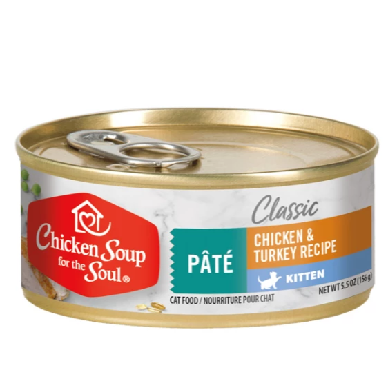 Chicken Soup for the Soul Kitten Canned Cat Food - 5.5oz