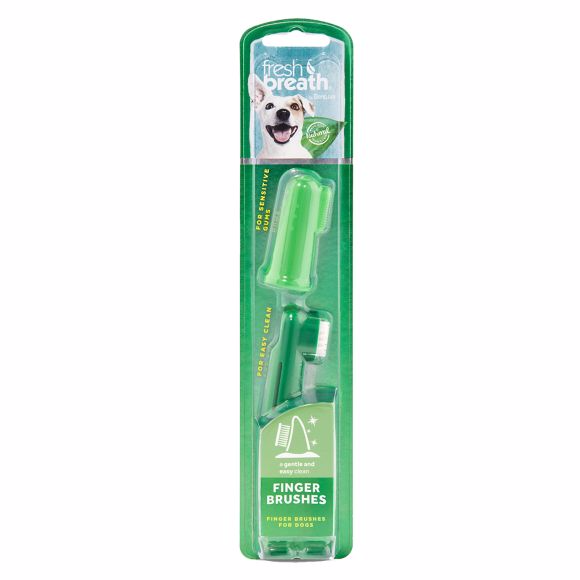 Tropiclean Fresh Breath Dog Finger Toothbrushes