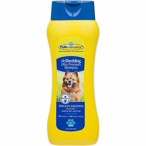 FURminator DeShedding Ultra Premium Shampoo for Dogs 16 oz Bottle