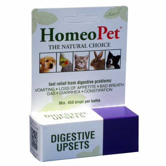 HomeoPet Digestive Upsets Dog, Cat, Bird & Small Animal Supplement
