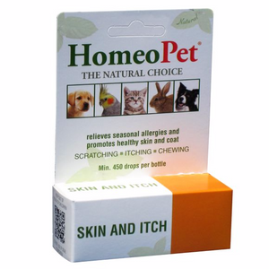 HomeoPet Skin & Itch Dog, Cat, Bird & Small Animal Supplement