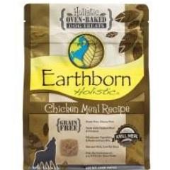 Earthborn Holistic Oven-Baked Grain Free Treats Chicken Meal (14 oz - 2 lb)