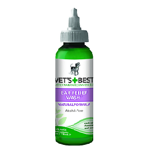 Vet's Best Ear Relief Wash for Dogs 4oz Bottle