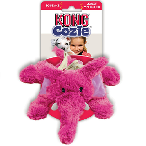 KONG Cozie Elmer the Elephant Dog Toy (Small)