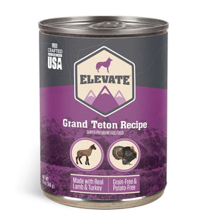Elevate Grand Teton Canned Dog Food 13oz (MAP ENFORCED-IN STORE PURCHASE MAY HAVE LOWER PRICE)