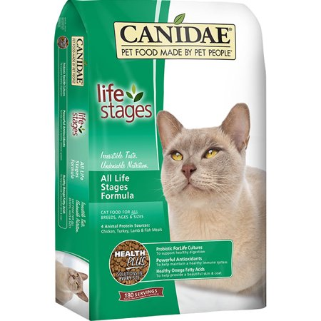 CANIDAE All Life Stages Cat Chicken, Tky, Lamb & Fish 4lb