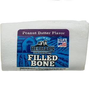 Redbarn Peanut Butter Filled Bones Dog Treats (Small/Large)