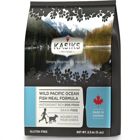KASIKS Wild Pacific Ocean Fish Meal Formula Dry Dog Food