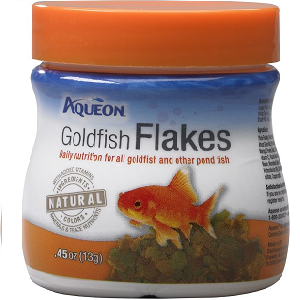 Aqueon Goldfish Flaked Fish Food .45oz