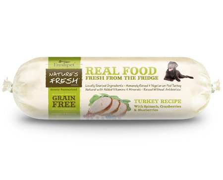 Freshpet Nature's Fresh® Dog Grain Free Turkey Roll (1-5lb)
