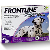 Frontline Plus Dog 45 - 88lb  3 - 6 Doses
