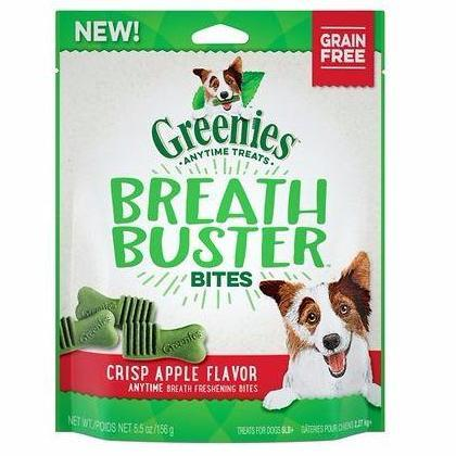 Greenies Breath Buster Bites Crisp Apple Flavor 2.5 - 11oz