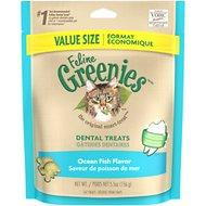 Greenies Feline Ocean Fish Flavor Dental Cat Treats 5.5oz