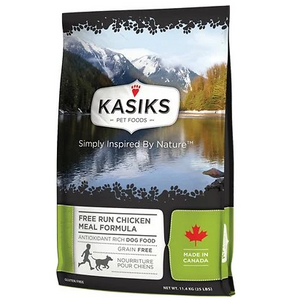 KASIKS Free Run Chicken Meal Formula Dry Dog Food